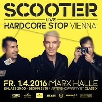 SCOOTER live - Hardcore Stop Vienna@Marx Halle
