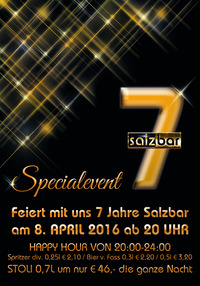 Salzbar Jahresfeier No7@Salzbar