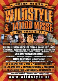 Wildstyle & Tattoo Messe 2016@Brandboxx Salzburg
