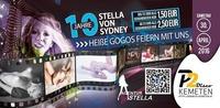 10 SEXY GOGOS // 10 Jahre Agentur Stella von Sydney // P2-Kemeten@Disco P2
