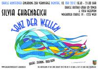 """Silvia Ehrenreich – """"Tanz der Wellen"""" – repräsentative Einzelausstellung im ORACLE Kunst Foyer!@IZD Tower und Oracle Austria GmbH"""