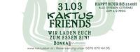 Kaktus Friends@Kaktus Bar