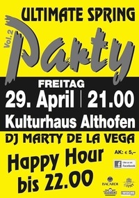 Ultimate Spring Party Vol.2@Kulturhaus