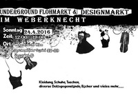 Wien`s Underground Flohmarkt & Designmarkt@Weberknecht
