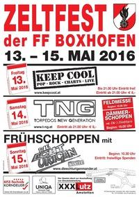 Zeltfest der FF Edla-Boxhofen 2016@Festzelt Boxhofen