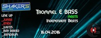 Trommel & Bass meets Independent Beats at Shaker´s Zell am See@Shaker's