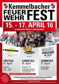 Kemmelbacher Feuerwehrfest@Festhalle