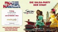 NOCHE HAVANA 8.4.2016 die Salsa Party der Stadt SALSA CLUB SALZBURG@Stadtcafe Salzburg