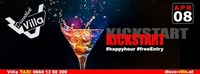 Kickstart - Happy Hour@Disco Villa