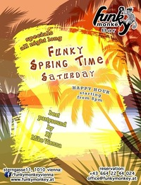 ☼ Funky Town ☼ Saturday April 9th, 2016@Funky Monkey