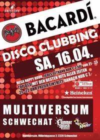 Bacardi Disco Clubbing