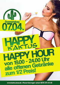 Happy Kaktus@Kaktus Bar