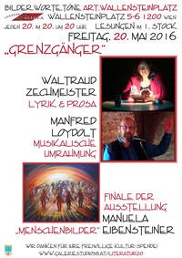 """Waltraud Zechmeister und Manfred Loydolt – """"Grenzgänger"""" in Lyrik, Prosa und Gesang! @Osteria Allora"""