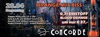 Orange mit Biss@Discothek Concorde