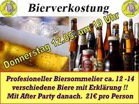 Bierverkostung der besonderen Art !@1-Euro-Bar