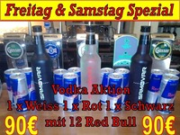 VODKA WEEKEND SPEZIAL@1 EURO BAR
