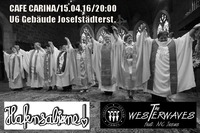 Westerwaves feat. MC Jesus & HafenSabine@Café Carina