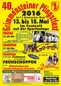 40. Grimmensteiner Pfingstfest, der Samstag@Sportanlage Grimmenstein