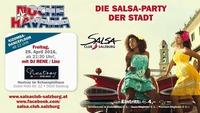 NOCHE HAVANA 29.4.2016 die Salsa Party der Stadt SALSA CLUB SALZBURG@Nestroy im Schauspielhaus