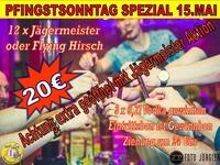 PFINGSTSONNTAG GAUDI@1 EURO BAR