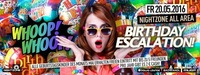 Birthday Escalatin XXL - Mai@Nightzone Zillertal