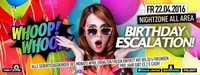 Birthday Escalation XXL - April@Nightzone Zillertal