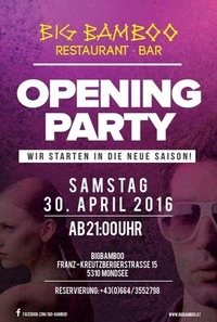 Opening Party@Big Bamboo