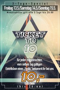 Ticket to 10@Spessart