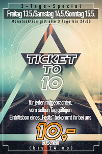 Ticket to 10@Spessart