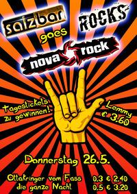 Salzbar Rocks *NOVA ROCK SPECIAL*@Salzbar