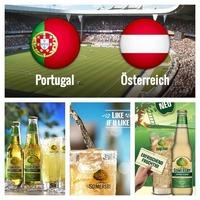 Gewinnspiel 2 EM Tickets Österreich:Portugal @BETTELAlm Johannesgasse@Bettelalm