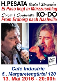 El Paso liegt in Mürzuschlag - From Erdberg nach Nashville - unplugged!@Traditionscafe Industrie