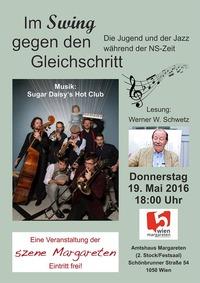 Im Swing gegen den Gleichschritt@Amtshaus Margareten - 2. Stock/Festsaal