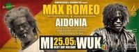 MAX ROMEO & AIDONIA - 25/05/2016 Next Day Holiday WUK Vienna@WUK