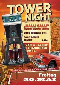 POWER TOWER NIGHT@Disco Coco Loco