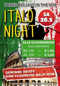 ITALO NIGHT@Disco Coco Loco