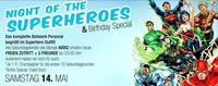 NIGHT OF THE SUPERHEROES – DIE INVASION! & BIRTHDAY SPECIAL@Bollwerk