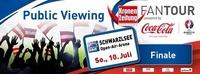 UEFA-EURO 2016 Krone und Coca Cola Fanmeilen Tour@Schwarzl See