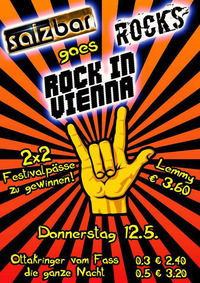 "Salzbar Rocks goes ""Rock in Vienna""@Salzbar"