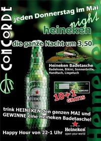 Heineken-Night@Discothek Concorde
