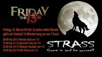 Friday the 13th@Strass Lounge Bar