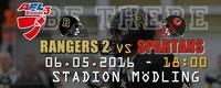 AFC Rangers 2 - Weinviertel Spartans@Stadion Mödling
