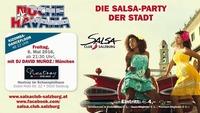 NOCHE HAVANA 6.5.2016 die Salsa Party der Stadt SALSA CLUB SALZBURG@Nestroy im Schauspielhaus