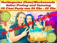 2 Tage 50 Cent Party@1-Euro-Bar