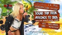 Sound trip from Mykonos to Ibiza@Burnout Club