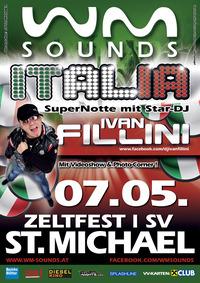 WM-SOUNDS ITALIA beim Zeltfest in St. Michael@Festzelt St. Michael