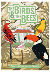 THE BIRDS & THE BEES - Hip Hop, Funk, Latin Special mit Megablast