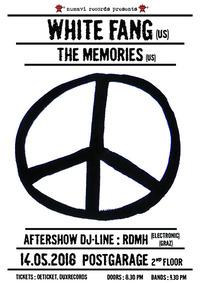 White Fag (US), The Memories (US) // RDMH@Postgarage