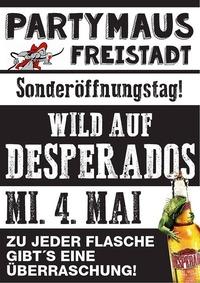 WILD AUF DESPERADOS@Partymaus Freistadt