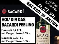 Bacardi in Aktion – Hol die das Bacardi Feeling@Mausefalle